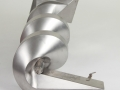 stainless steel spiral chute